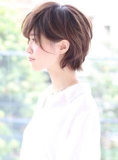 大人の上品ショート(髪型ショートヘア)