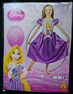 fb148beb1d9b Rapunzel Disney Princess Story Time Fancy Dress Costume Child Large 7-8 YRS  Disney Princess