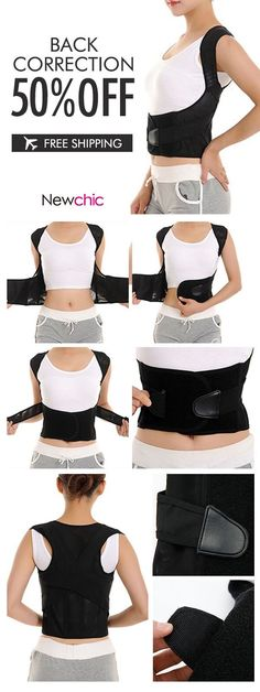 Humpback Corrector Belt Back Straightener Sitting Standing Posture Rectification