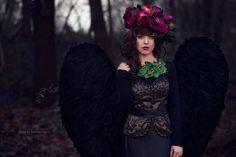 Dark Angel by Jolania.com. Fantasy Magic  Fairytale Dreams