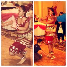 Traditional Tongan Dance by Me:)