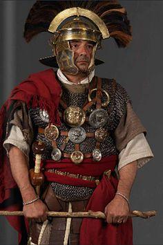 Centurión romano - Reenactment
