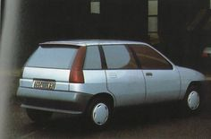 OG | 1990 Renault Clio MK1 - Project X57 | Giugaro's proposal dated Jan. 1987