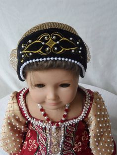 OOAK Tudor Elizabethan Gown for your American Girl doll