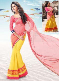 #RRajkumar #Sonakshi Glorious Half And Half Saree