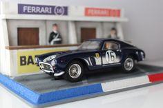 Diorama Le Mans Box Clásico (part S Mo, Slot Cars, Le Mans, Custom Cars, Carrera, Diorama, Hot Wheels, Diecast, Ferrari