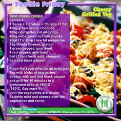 Weigh-Less Best Choice Recipe Vegetarian Recipes Dinner, Healthy Eating Recipes, Veggie Recipes, Baby Food Recipes, Dinner Recipes, Dip Recipes, Healthy Life, Eating Plans, Diet Plans