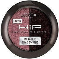 L'Oreal - HiP Studio Secrets Professional Metallic Shadow Duo #ultabeauty  this sculpted duo replicates mac's star violet