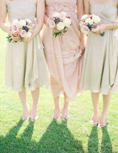 Gorgeous wedding pastels