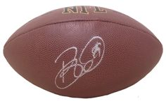Brett Keisel Autographed NFL Wilson Football, Proof