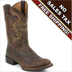 The Justin Boots Stampede Cattleman western boot in Dark Brown Rawhide w/ Saddle is constructed with a dark brown rawhide upper and the J-Flex comfort system for superior cushioning and stability. Justin Stampede Cattleman boots are stylish and functional for everyday use or work on the farm or ranch.