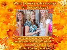 Make your holidays a little brighter by joining TODAY!!!                                                   Melissa J. Rooker Paparazzi Independent Consultant Producer 740.304.9109 http://www.facebook.com/PaparazziwithMelissa10559 www.paparazziaccessories.com/10559