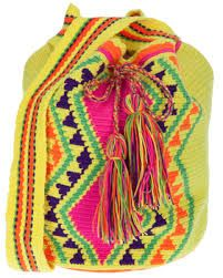 Susu bag's.  100% cotton, handmade in Colombia by indigenous Wayuu women. All bag items are one-of-kind, unless noted in the description. In most cases, we will try our best to match the item selected, however there is no guarantee of an exact match. Please note that color may vary from what it appears online. www.susustyle.com