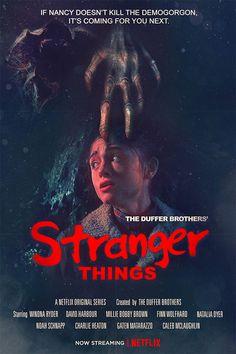 """Genial cartel de la segunda temporada de """"Stranger Things"""""""
