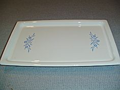 Corning Ware Cornflower Electric Warming Tray - Vintage, Mint, Rare