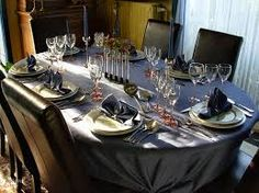 Afbeeldingsresultaat voor mooi gedekte tafels