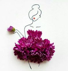 Whimsical flower art that I need everywhere around the house Lim Zhi Wei
