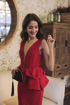 Wedding Guest Style, Red Wedding, Peplum Dress, Wrap Dress, Bodycon Dress, Short Dresses, Formal Dresses, Wedding Dresses, Fashion Sewing