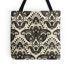 """""""Seamless paisley pattern"""" Tote Bags by Alxla 