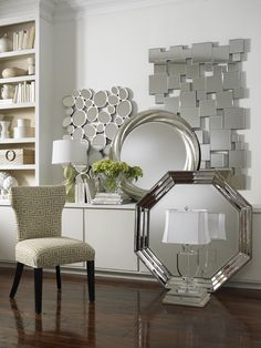 Here is a fun collection of mirrors! Have fun with your Interior Design projects! www.steinworld.com