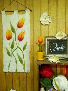 Mural tulipan amarillo