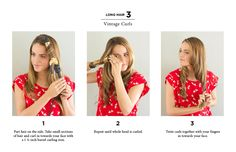 How to: vintage curls