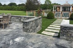 Kalkstein anthrazit nuvolato Sidewalk, Patio, Outdoor Decor, Home Decor, Natural Stones, Garten, Walkway, Homemade Home Decor, Yard