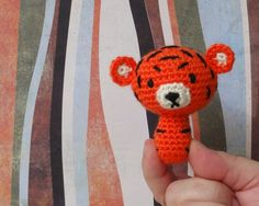 tiny amigurumi tiger