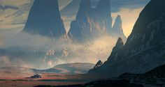 Alone on Kapteyn by Raphael-Lacoste.deviantart.com on @DeviantArt