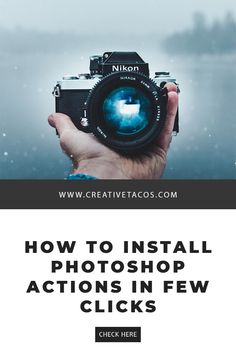 If you want to install Photoshop actions and need help, then this article will help you in installing them using few clicks and easily on your computer. Photoshop Fail, Photoshop Brushes, Photoshop Tutorial, Photoshop Youtube, Advanced Photoshop, Photoshop Design, Photoshop Elements, Photoshop For Photographers, Photoshop Photography