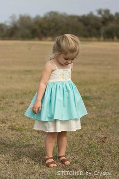 STITCHED by Crystal: Trendsetter Easter Dress