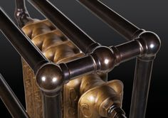 Close up view of custom built traditional towel rail radiator Towel Rail, Chesterfield Chair, Radiators, Accent Chairs, Traditional, Building, Home Decor, Upholstered Chairs, Homemade Home Decor