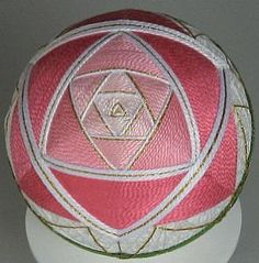 temari,olympu,kits,thread,yarn,balls,spheres,globes,japanese,japan,bunka,ginny,embroidery