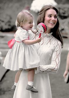 The Cambridges. : Charlotte and Kate