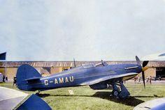 "Hawker Hurricane Mk.IIc, ""Last of the Many"", King's Cup Air Race, 1950 . . ."