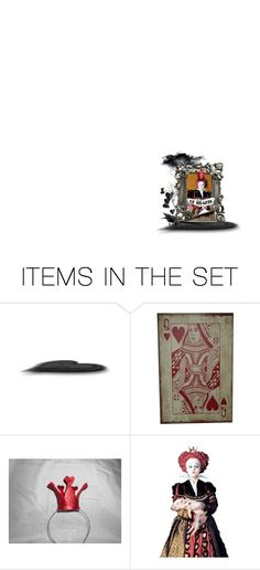 """""""Right, 'the Queen of Hearts.' Sounds to me like you're just one b&%tch in a whole pack of cards, baby."""" by lildreamer ❤ liked on Polyvore featuring art"""