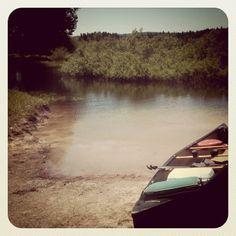 October, Chris kayaks to Mexico.
