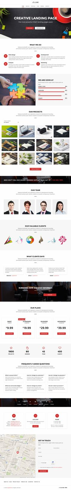 Muu Is A One Page Resume Html Template With A Unique Multi