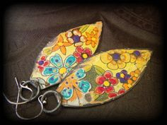 Earrings Everyday: Time for Tin by Lynn Ferro (plus a couple of tin tips!)