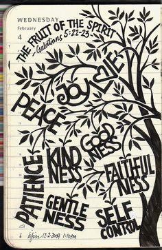 the fruit of the Spirit - gal 5:22-23    liyin the creative-extraordinaire