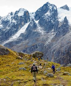 Cordillera Blanca, Peru. Repinned by Elizabeth VanBuskirk. The vertical environment of the Andes mountains can be see in this photograph. It is a great influence in the lives of those living in highland Peru.