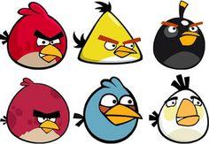 Angry Birds – Kit Completo com molduras para convites, rótulos para guloseimas, lembrancinhas e imagens! |Fazendo a Nossa Festa