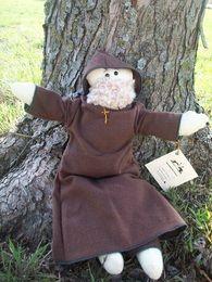 Franciscan Monk Rag Doll: Friar Isaac