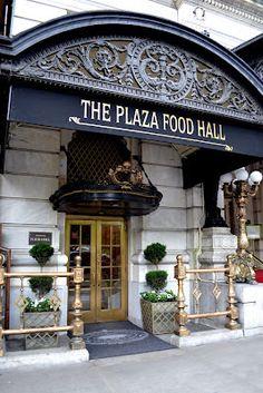 The Plaza Food Hall ~ New York City.