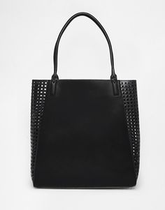 ASOS Laser Cut Shopper Bag