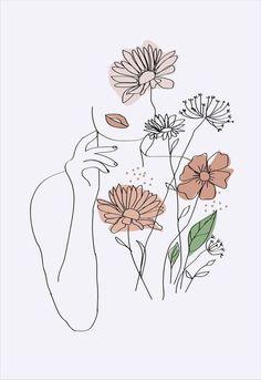 Eternizado Kunst Inspo, Art Inspo, Art Sketches, Art Drawings, Abstract Drawings, Minimal Art, Outline Art, Abstract Line Art, Abstract Portrait