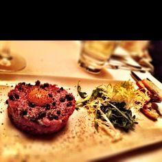 Steak tartare...I miss Alberta beef