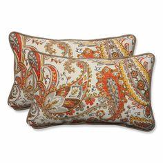 Hadia Sunset Outdoor/Indoor Throw Pillow
