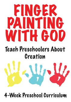 Teach Preschoolers About Creation with these fun lessons. These Preschool Bible lessons from Finger Painting Preschool Church Curriculum are perfect for Sunday School or Children's Church. Preschool Bible Lessons, Preschool Curriculum, Preschool Classroom, Preschool Ideas, Homeschool, Bible Activities, Motor Activities, Preschool Activities, Classroom Ideas
