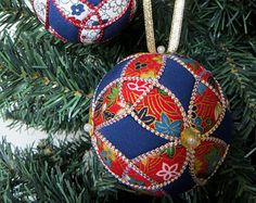 Christmas Ornament Tutorial - Pattern - Instructions - DIY - No Sew - Trinity